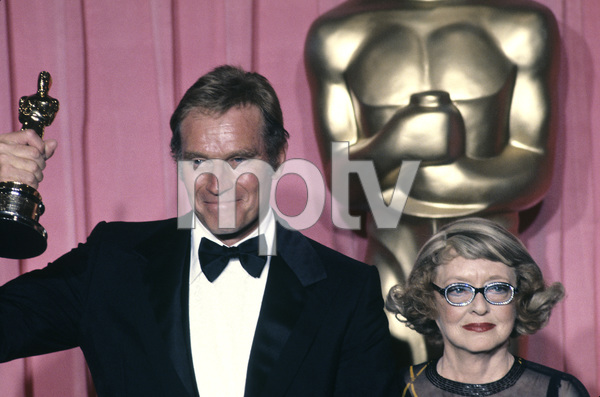 """The 50th Annual Academy Awards""Charlton Heston, Bette Davis1978 © 1978 Gunther - Image 11513_0012"