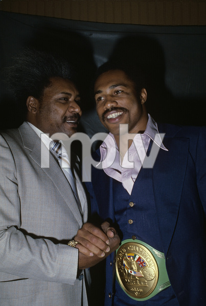 Ken Norton and Don King1976© 1978 Gunther - Image 11517_0008