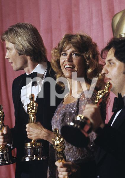 """The 51st Annual Academy Awards""Jon Voight, Jane Fonda, Michael Cimino1979 © 1979 Gunther - Image 11518_0046"