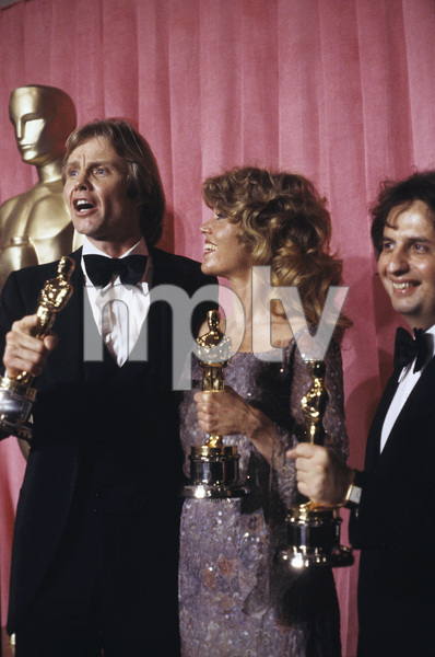 """The 51st Annual Academy Awards""Jon Voight, Jane Fonda, Michael Cimino1979 © 1979 Gunther - Image 11518_0058"