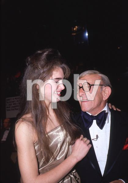 """Bob Hope TV Special"" Brooke Shields & George Burns. © 1981 Gunther - Image 11519_0004"