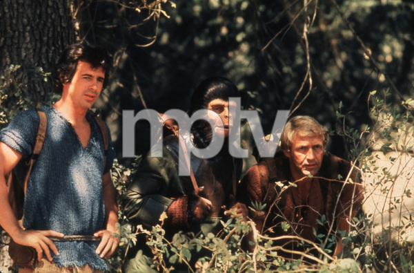 """1152-7""""The Planet of the Apes"""" - Ron Harper, Roddy McDowall, and James Naughton, CBS, 1974. - Image 1152_7"""