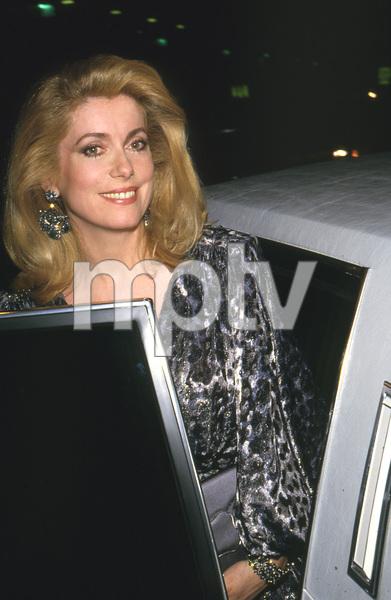 Catherine Deneuve, 1988 Golden Globes © 1988 Gary Lewis - Image 11528_0032