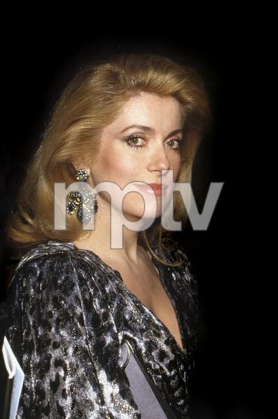 Catherine Deneuve, 1988 Golden Globes © 1988 Gary Lewis - Image 11528_0035