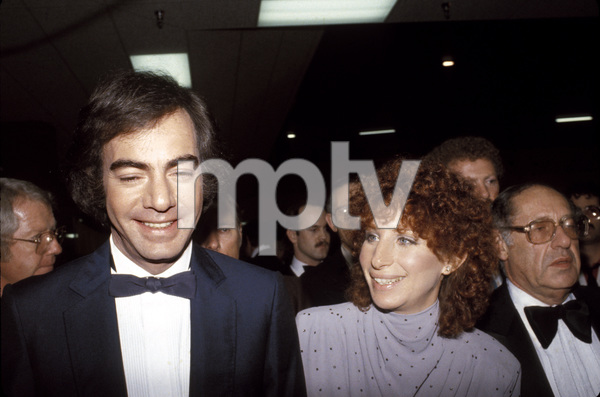 """The 22nd Annual Grammy Awards""Neil Diamond, Barbra Streisand1980 © 1980 Gunther - Image 11553_0009"