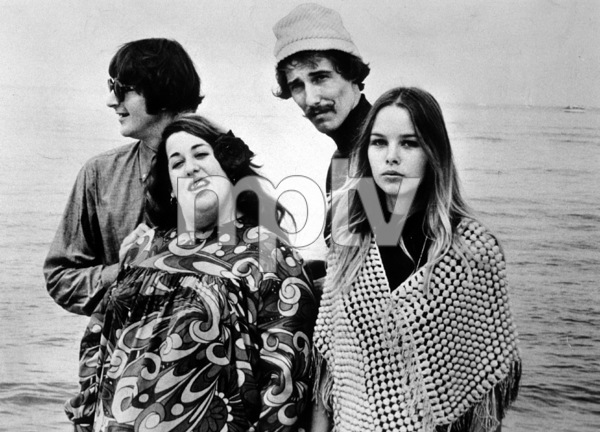 The Mamas and the Papas John Phillips, Michelle Phillips, Mama Cass Elliot, Denny Doherty October 1969 **I.V. - Image 11569_0007