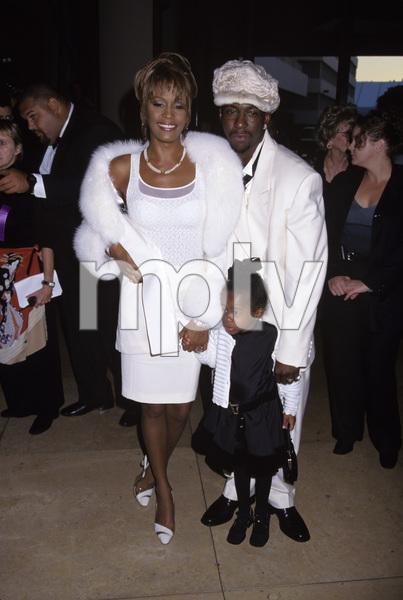 Whitney Houston, Bobby Brown and daughter Bobbi Kristina Brown1998© 1998 Gary Lewis - Image 11609_0007