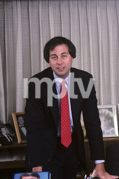 Brandon Tartikoff in his NBC office1987© 1987 Gunther - Image 11617_0014