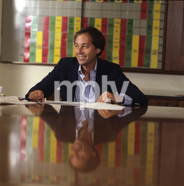 Brandon Tartikoff in his NBC office1987© 1987 Gunther - Image 11617_0028
