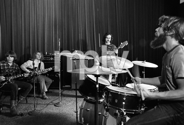 """""""Creedence Clearwater Revival""""John Fogerty, Tom Fogerty, Stu Cook, Doug Clifford1969 © 1978 Gunther - Image 11745_0006"""