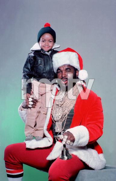 Mr. T with Emmanuel Lewiscirca 1985** H.L. - Image 11782_0029