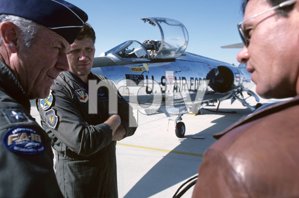 """The Right Stuff""General Chuck Yeager, Bob Patterson1983 Warner© 1983 Ron Grover - Image 11824_0021"