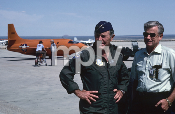 """""""The Right Stuff""""General Chuck Yeager1983 Warner© 1983 Ron Grover - Image 11824_0024"""