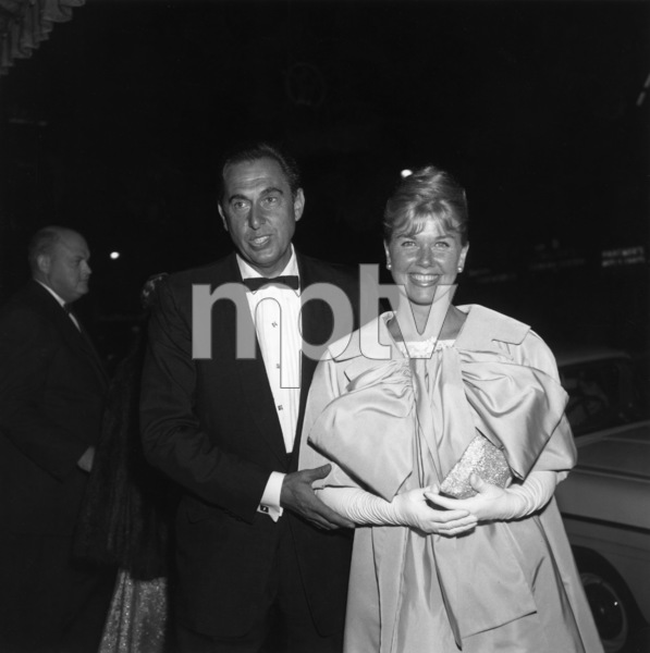 """Pillow Talk"" (Premiere)Martin Melcher, Doris Day1959© 1978 David Sutton - Image 1191_0001"