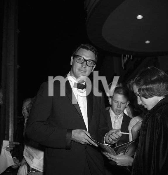 """Pillow Talk"" (Premiere)Rock Hudson1959 © 1978 David Sutton - Image 1191_0006"