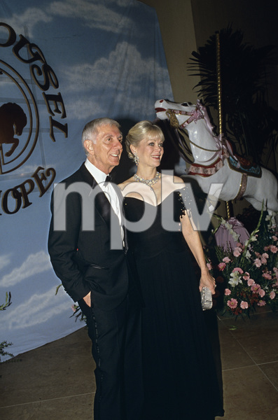 """Carousel of Hope Ball""Aaron Spelling with his wife Candy1990 / Beverly Hilton Hotel © 1990 Gunther - Image 11937_0014"