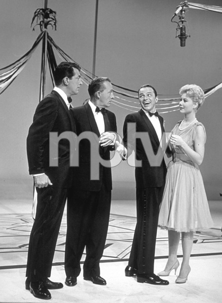 """The Frank Sinatra Timex Show"" (Bing Crosby and Dean Martin Present High Hopes) Dean Martin, Bing Crosby, Frank Sinatra, Mitzi Gaynor 1959 © 1978 Gene Howard - Image 1198_0008"