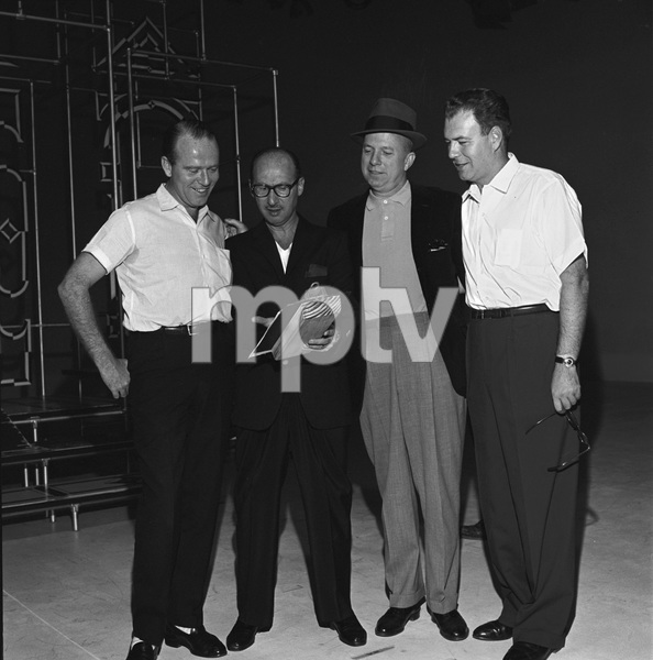 """The Frank Sinatra Timex Show"" (Bing Crosby and Dean Martin Present High Hopes) Sammy Cahn with Jimmy Van Heusen and Nelson Riddle 1959 © 1978 Gene Howard - Image 1198_0036"