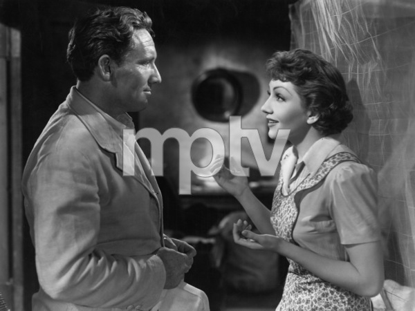 """""""Boom Town""""Spencer Tracy, Claudette Colbert1940 MGM - Image 12006_0003"""