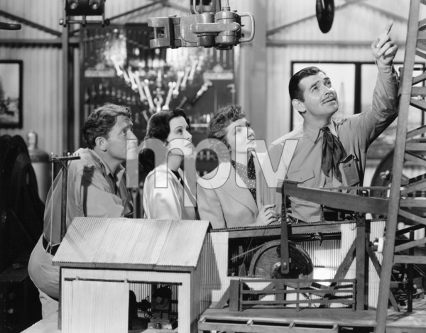 """""""Boom Town""""Spencer Tracy, Hedy Lamarr, Claudette Colbert, Clark Gable1940 MGM** B.L. - Image 12006_0005"""