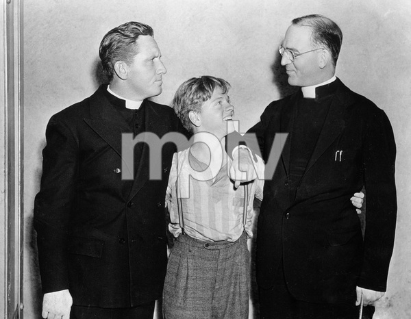 """""""Boys Town""""Spencer Tracy, Mickey Rooney1938 MGM - Image 12008_0001"""