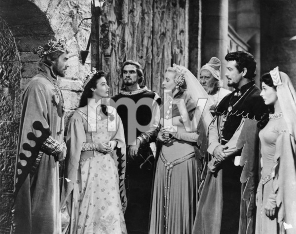 """Knights of the Round Table""Mel Ferrer, Ava Gardner, Robert Taylor1953 MGM - Image 12024_0002"