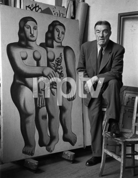 Fernand Leger in Paris1948© 1978 Sanford Roth / L.A.C.M.A. - Image 12052_0002