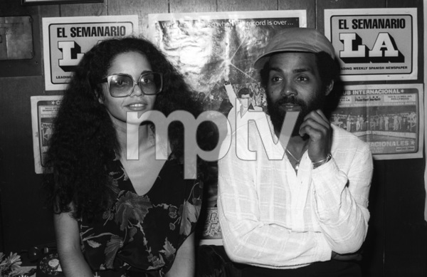 Janis Gaye and Frankie Beverly at Marvin Gaye