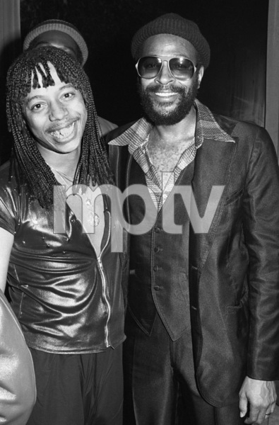 Rick James and Marvin Gayecirca 1979© 1979 Bobby Holland - Image 12163_0200
