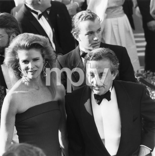 """""""The 60th Annual Academy Awards""""Candice Bergen, Louis MalleApril 11, 1988© 1988 Gunther - Image 12279_0015"""