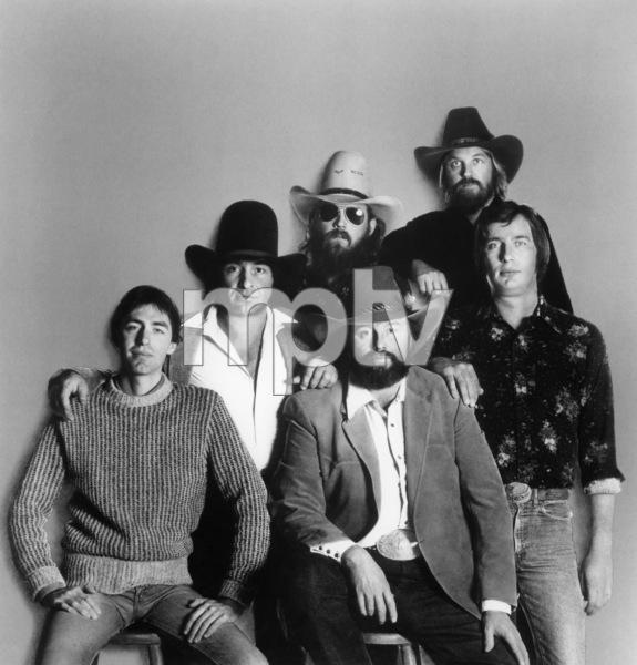 The Charlie Daniels Band ((L to R) James W. Marshall, Joel
