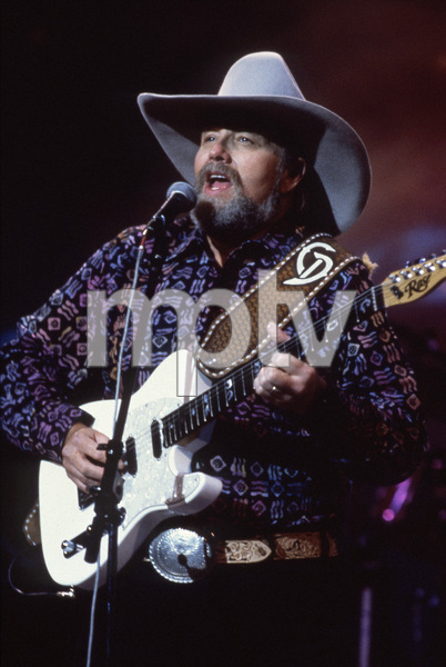 "Charlie Daniels performs on ""Cheyenne Frontier Days with Charlie Daniels and Friends""November 30, 1992 ** I.V. - Image 12339_0013"