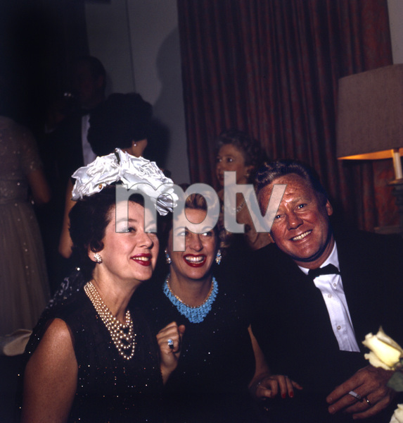 """Cobina Wright Party""Rosalind Russell, Van Johnsoncirca 1955 © 1978 Wallace Seawell - Image 12358_0019"
