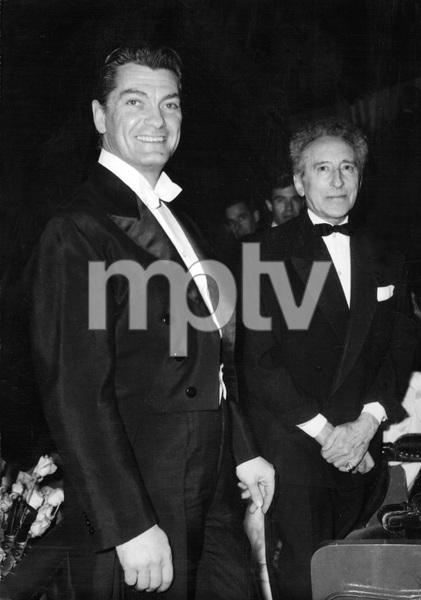 Jean Marais and Jean Cocteau mid 1950