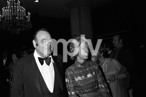 """John Ford Tribute""Jonathan Winters, Eileen Schaudercirca 1976 © 1978 Gunther - Image 12448_0009"