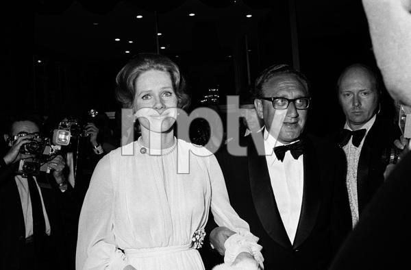 """""""John Ford Tribute""""Liv Ullmann, Henry Kissingercirca 1976 © 1978 Gunther - Image 12448_0012"""