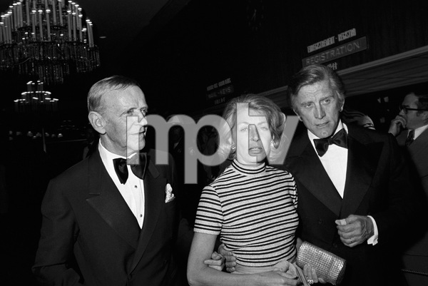 """""""John Ford Tribute""""Fred Astaire, Anne Buydens, Kirk Douglascirca 1976 © 1978 Gunther - Image 12448_0014"""
