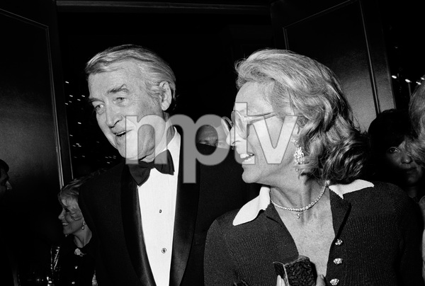 """John Ford Tribute""James Stewart, Gloria Stewartcirca 1976 © 1978 Gunther - Image 12448_0017"