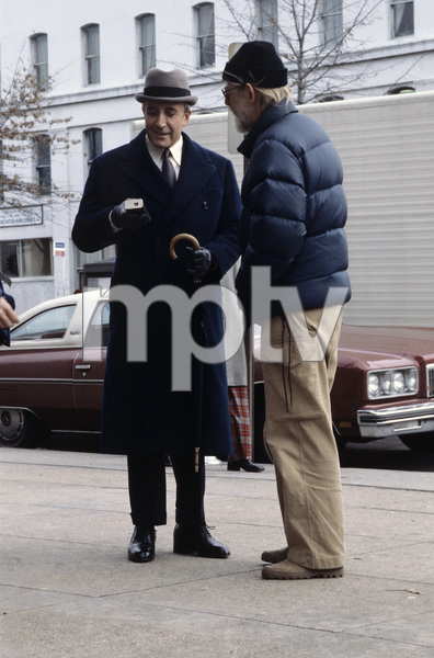 """Being There"" Director Hal Ashby, Peter Sellers 1979 Lorimar © 1979 Ed Thrasher - Image 12514_0023"