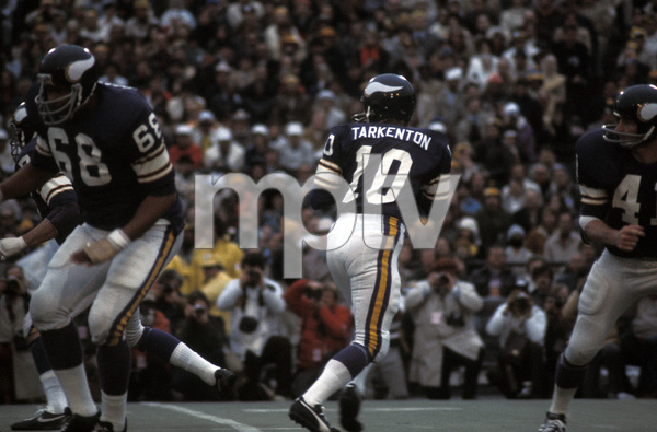 Fran Tarkenton of the Minnesota Vikingscirca 1972 © 1978 Gunther - Image 12558_0001