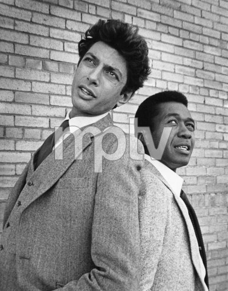 """Tenspeed and Brown Shoe""Jeff Goldblum, Ben Vereen1980 © 1980 Marv Newton - Image 1256_0001"