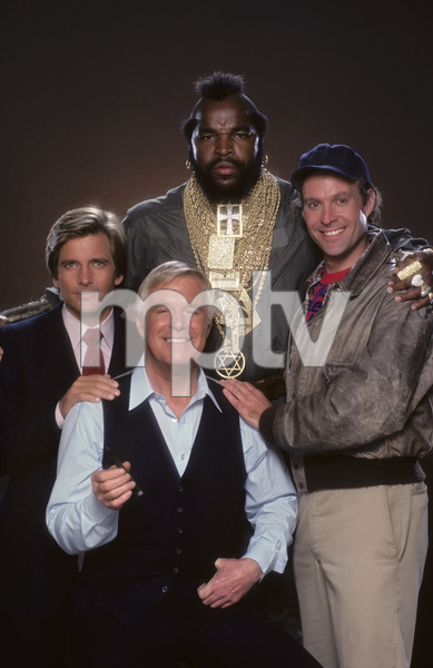 """The A-Team""Dirk Benedict, George Peppard, Mr. T, Dwight Schultz1984 © 1984 Mario Casilli - Image 12608_0020"