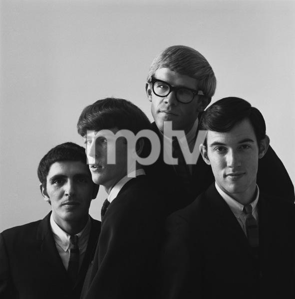 The Modern Folk Quartet (Cyrus Faryar, Henry Diltz, Chip Douglas, Jerry Wester) 1964 © 1978 Ed Thrasher - Image 12630_0003