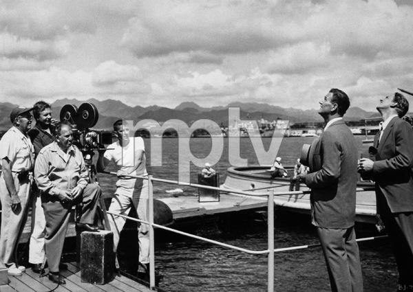 """Big McLain,"" Warner Bros. 1952.John Wayne and James Arness. - Image 12701_0001"
