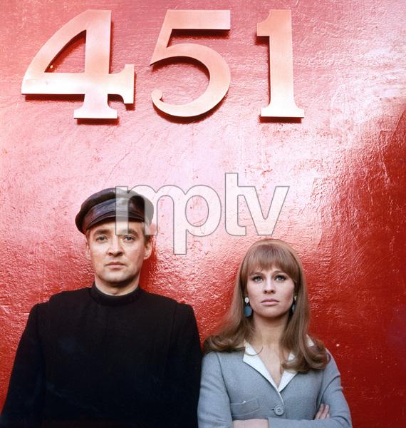 Julie Christie, Oskar Werner, Fahrenheit 451, Universal, 1966, I.V.  - Image 12706_0024