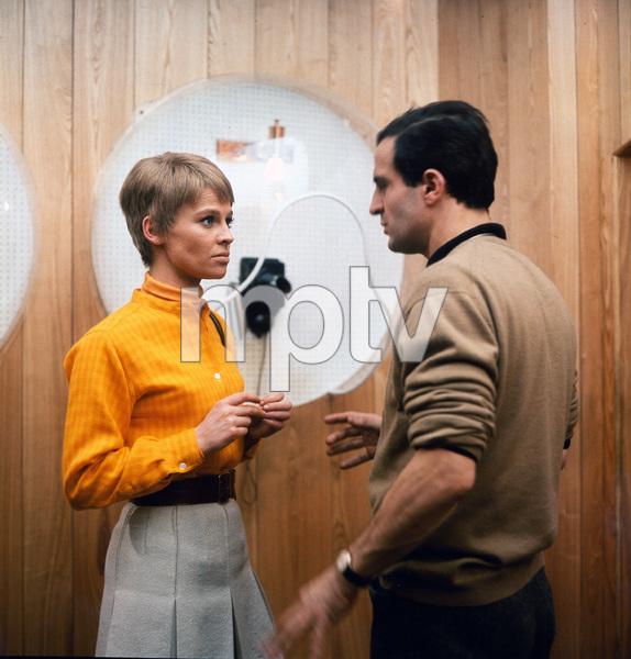 Julie Christie and director Francois Truffaut,  Fahrenheit 451, Universal, 1966, I.V.  - Image 12706_0025