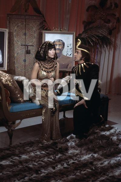 """The Sonny and Cher Comedy Hour"" Cher, Engelbert Humperdinckcirca 1974Photo by Gabi Rona - Image 1273_0011"