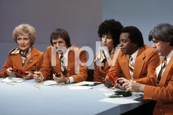 """The Sonny and Cher Comedy Hour""Betty White, Sonny Bono, Cher, Flip Wilsoncirca 1973Photo by Gabi Rona - Image 1273_0027"