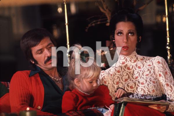 "1273-58 ""SONNY & CHER COMEDY HOUR, THE""SONNY BONO, CHASTITY BONO, CHERC. 1973 CBS © 1978 GUNTHER / MPTV - Image 1273_58"
