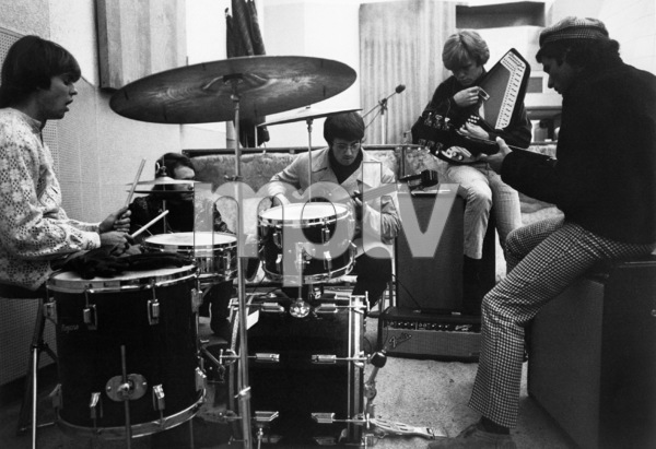 The Electric Prunes during a recording session1967 © 1978 Ed Thrasher - Image 12746_0003